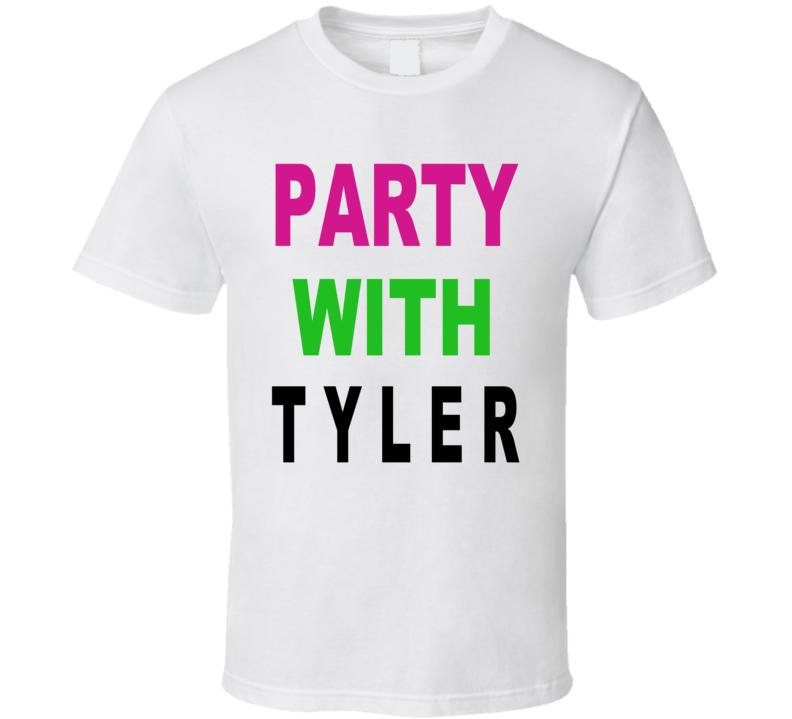 Buckwild MTV Party With Tyler T Shirt