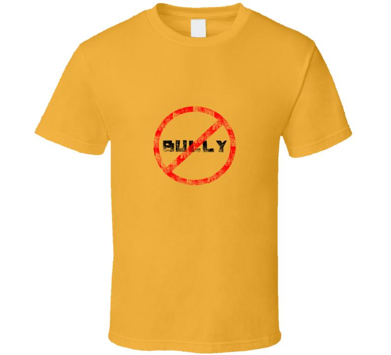 No Bully Kate Upton Yellow T Shirt