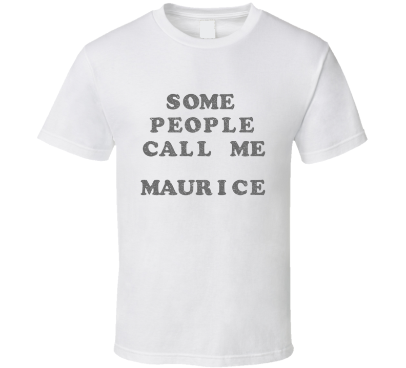 Keith Urban Idol Some People Call Me Maurice Distressed White T Shirt
