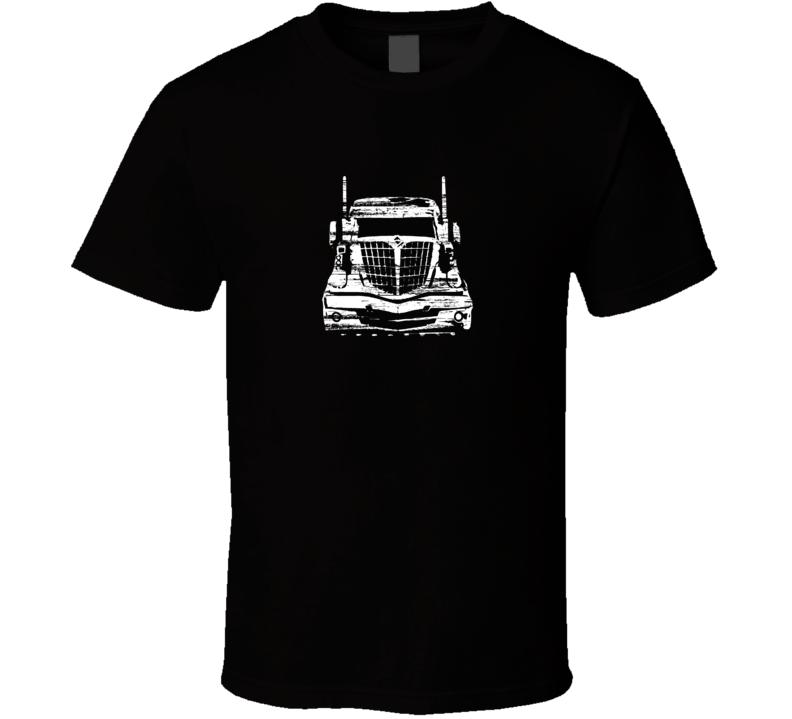 International Lonestar Black Distressed T Shirt