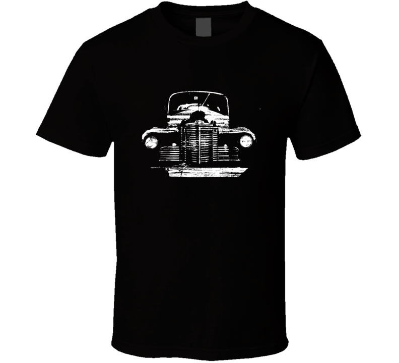 International Pickup Truck Distressed Black T Shirt