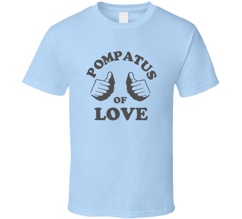 Steve Miller Joker Pompatus of Love Light Blue T Shirt