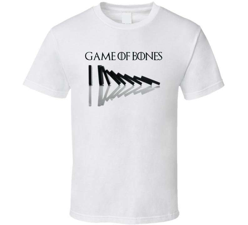 Game of Thrones Domino Bones Parody T Shirt