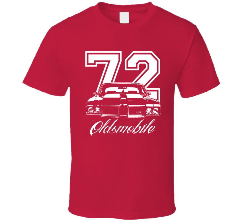 1972 Oldsmobile 442 Grill Year Model Dark Shirt