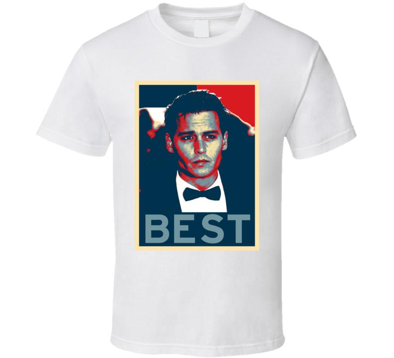 Johnny Depp BEST EVER Actor T Shirt