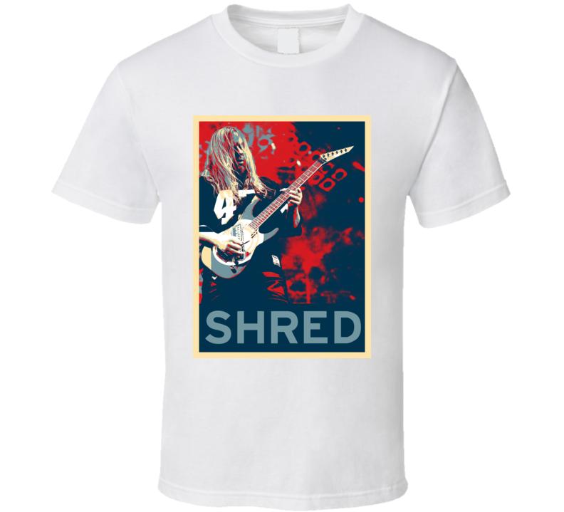 Jeff Hanneman Slayer  Guitar Shredder Hope Style T Shirt