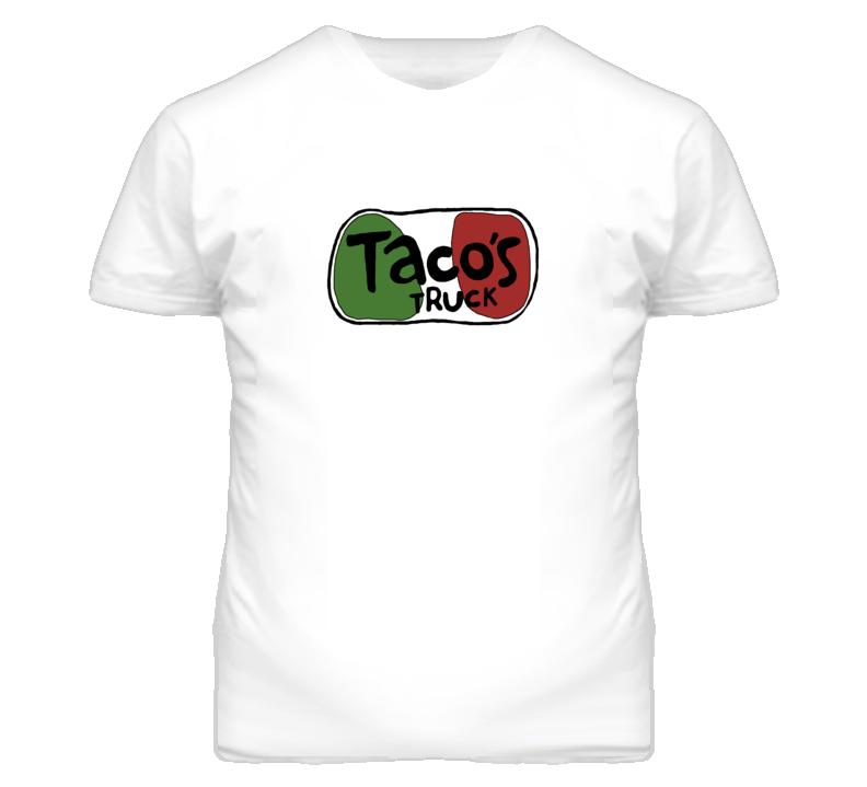 The League Season 5 Taco's Truck White T Shirt