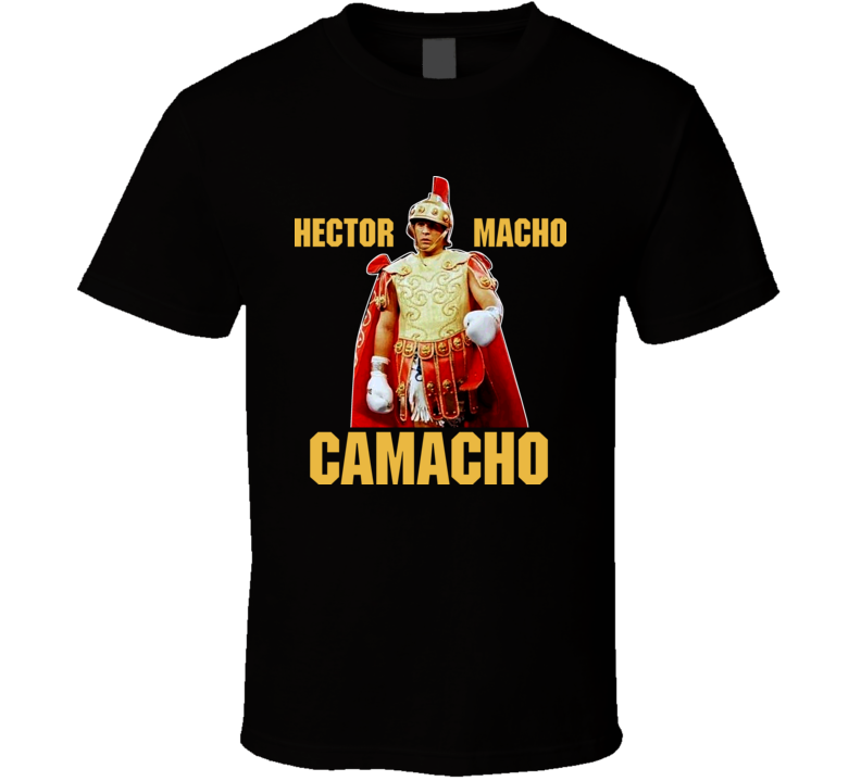 Hector Macho Camacho Boxing Champ Gladiator T Shirt