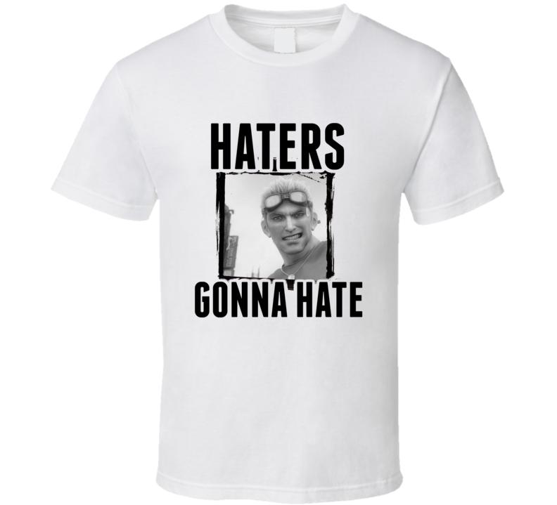 Cid Highwind Final Fantasy VII Video Game Haters Gonna Hate T Shirt