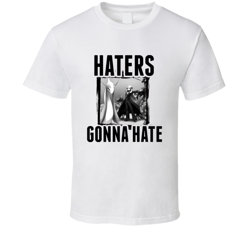 Cynthia Pokemon Diamond Video Game Haters Gonna Hate T Shirt
