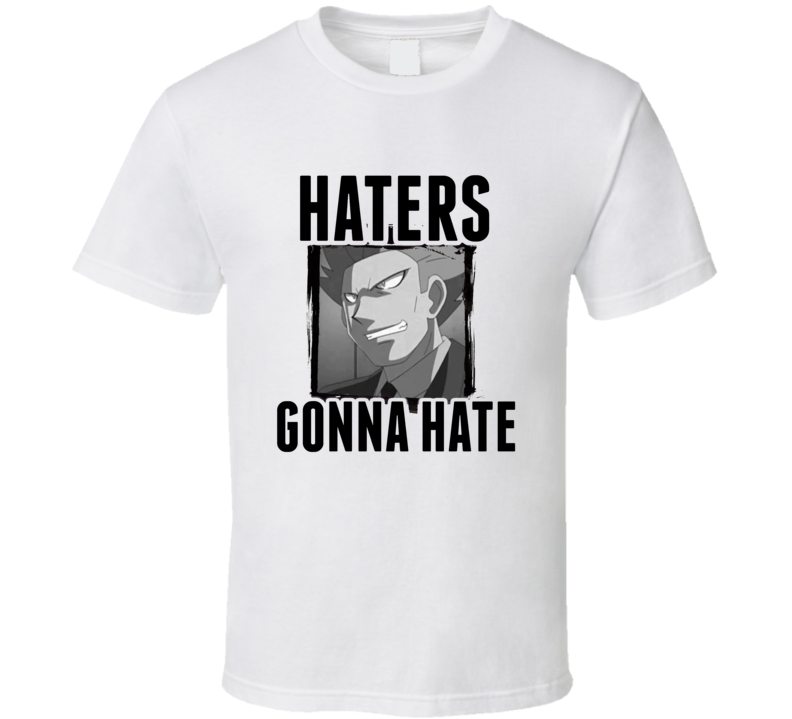 Cyrus Pokemon Diamond Video Game Haters Gonna Hate T Shirt