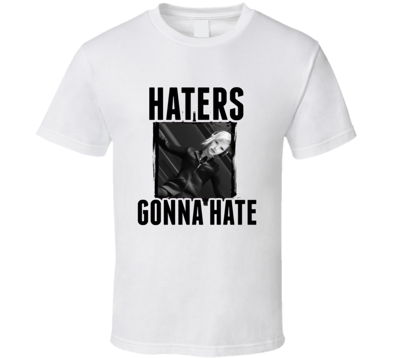 Elena Final Fantasy VII Video Game Haters Gonna Hate T Shirt