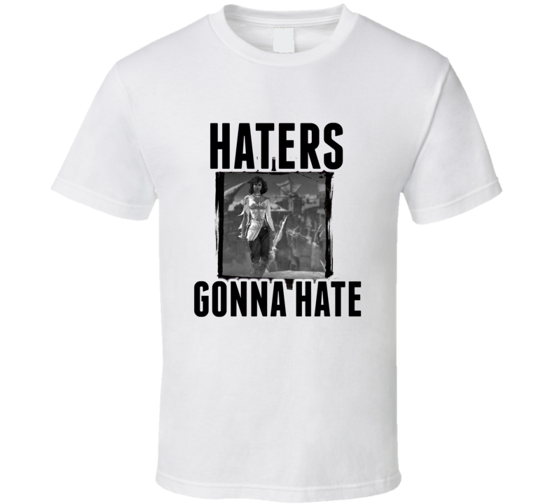 Elika Prince of Persia Video Game Haters Gonna Hate T Shirt