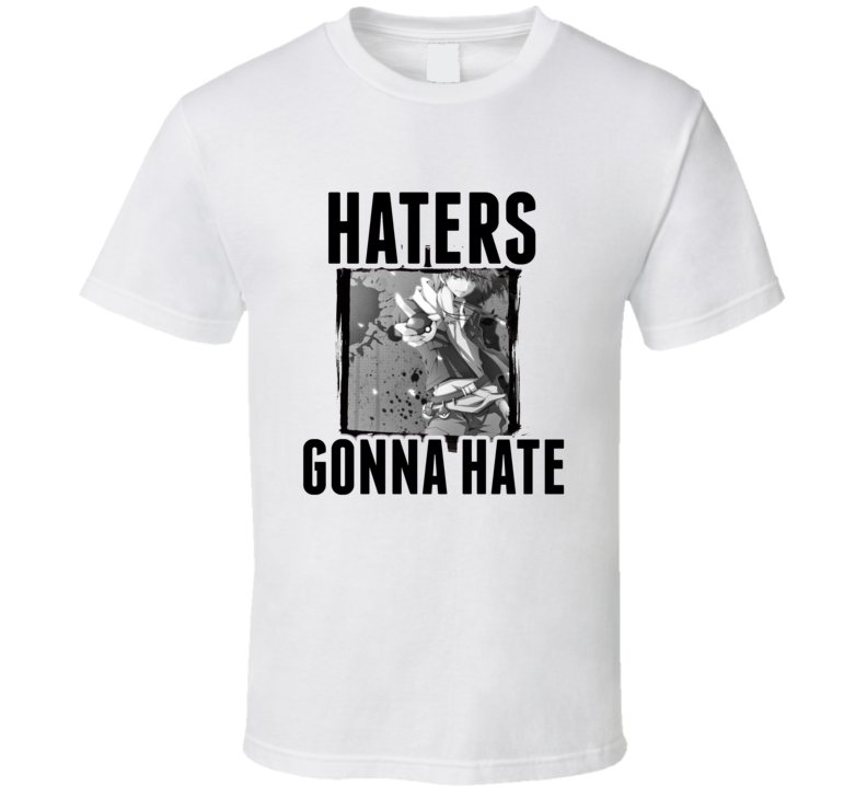 Gary Blue Pokemon Video Game Haters Gonna Hate T Shirt