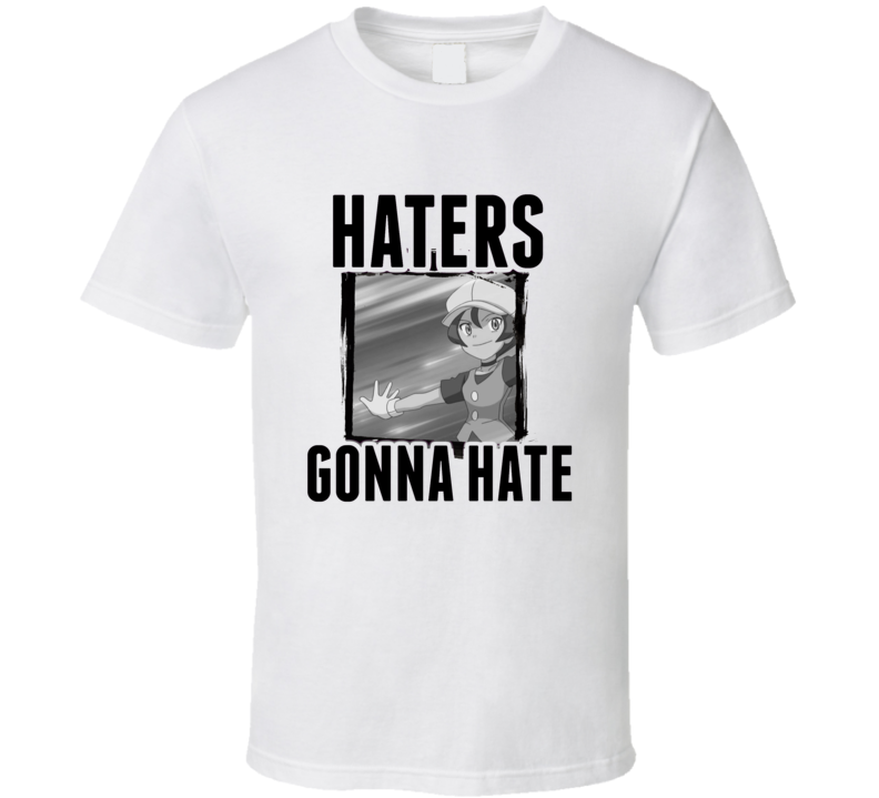 Georgia Pokemon Video Game Haters Gonna Hate T Shirt