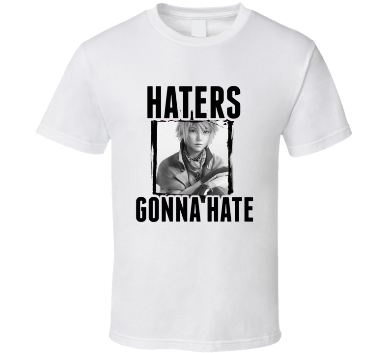 Hope Estheim Final Fantasy XIII Video Game Haters Gonna Hate T Shirt