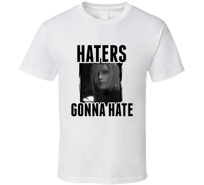 Kadaj Final Fantasy VII Video Game Haters Gonna Hate T Shirt