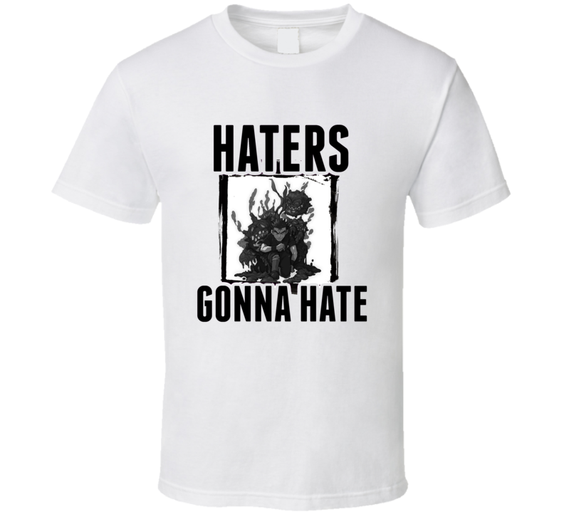 Koga Pokemon Video Game Haters Gonna Hate T Shirt