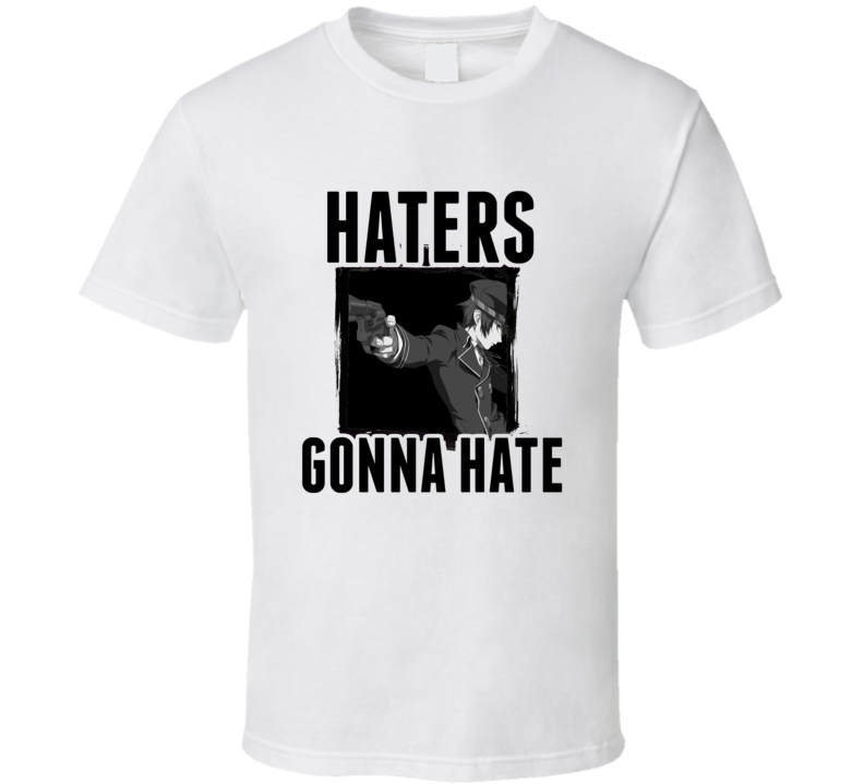 Naoto Shirogane Persona 4 Video Game Haters Gonna Hate T Shirt