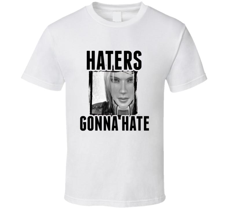 November Nova Terra StarCraft II Video Game Haters Gonna Hate T Shirt