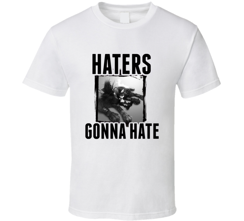 Red XIII Final Fantasy VII Video Game Haters Gonna Hate T Shirt
