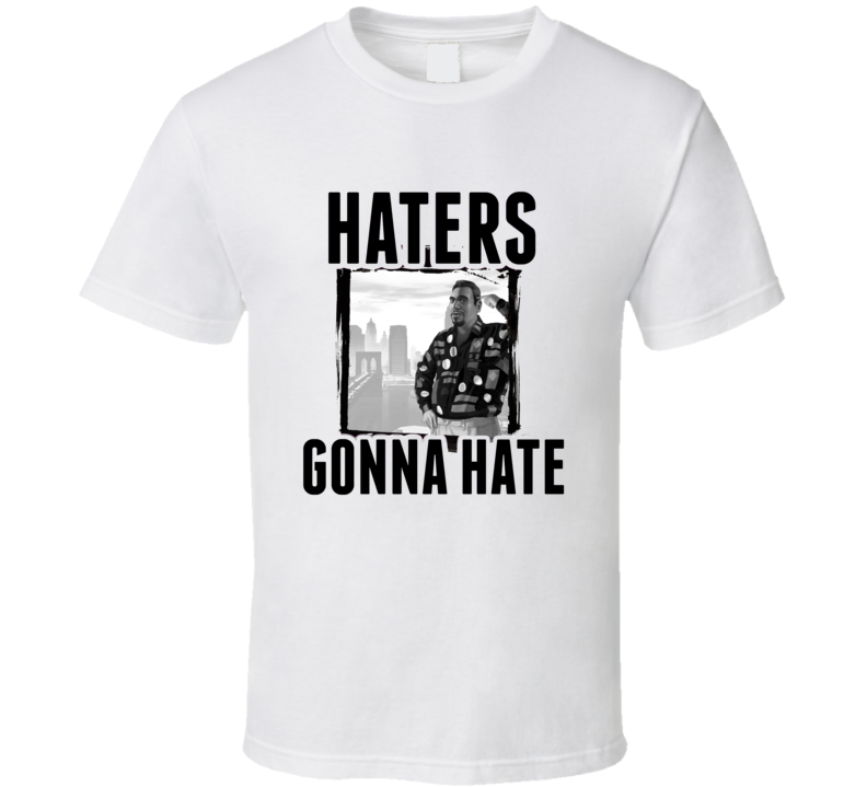 Roman Bellic Grand Theft Auto IV Video Game Haters Gonna Hate T Shirt