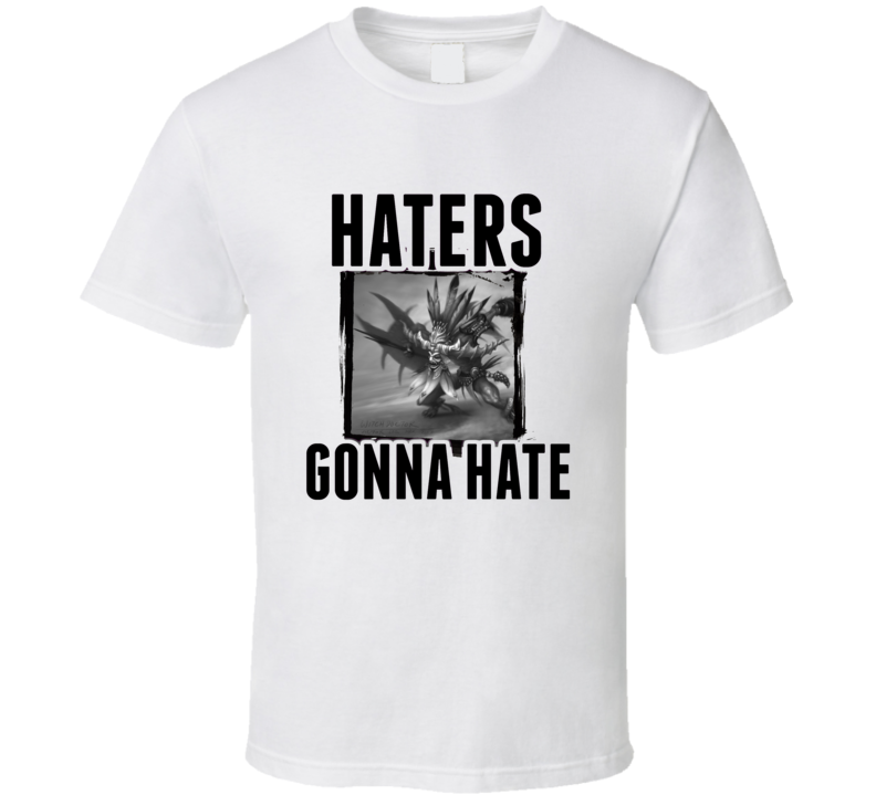 Witch Doctor Diablo 3 Video Game Haters Gonna Hate T Shirt