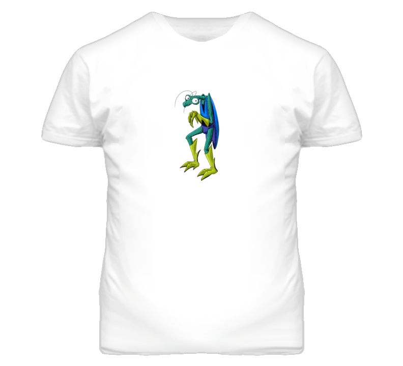 Zorak From Space Ghost Retro Cartoon Faded Distressed Look T Shirt