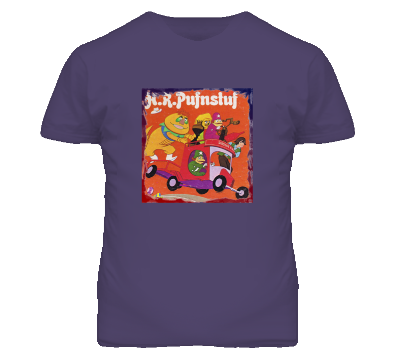 H.R. Pufnstuf Retro TV Show Funny Faded Distressed Look T Shirt