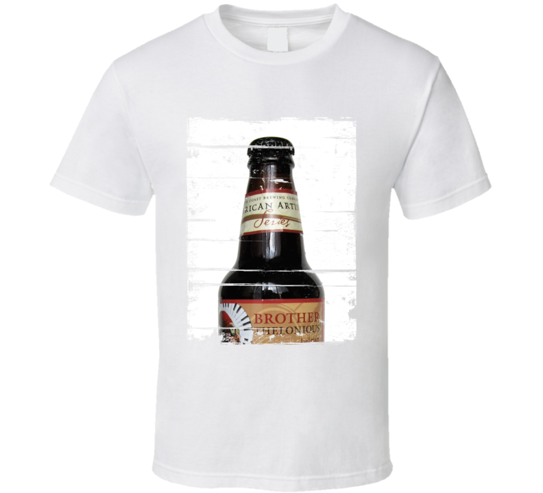 North Coast Brother Thelonious Label Distressed Image T Shirt