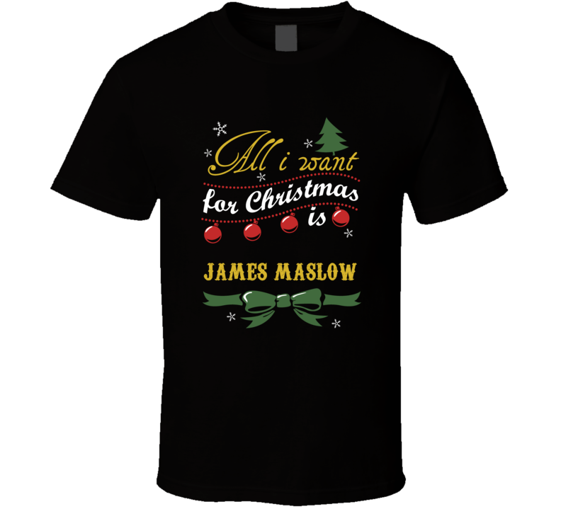 All I Want For Christmas Is James Maslow