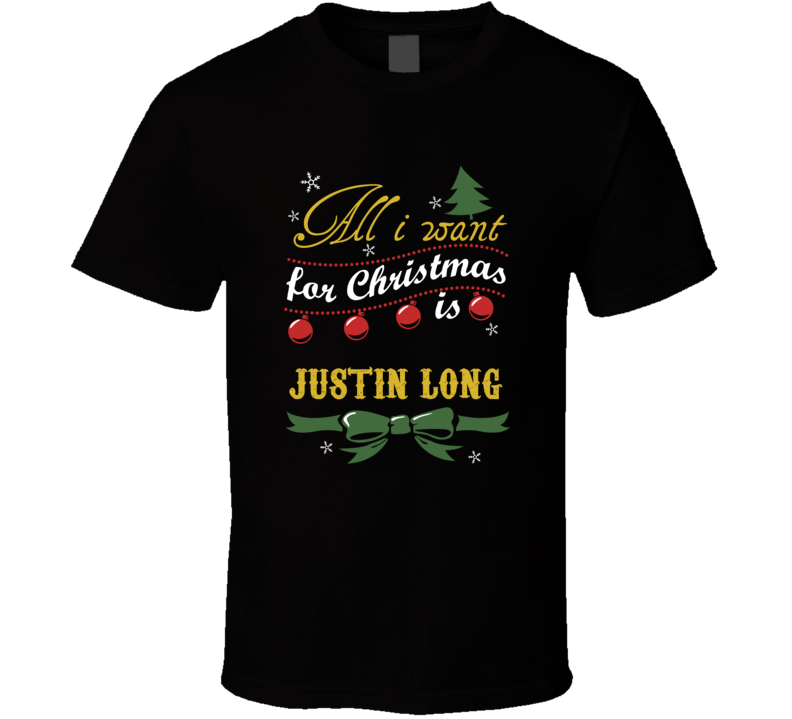 All I Want For Christmas Is Justin Long
