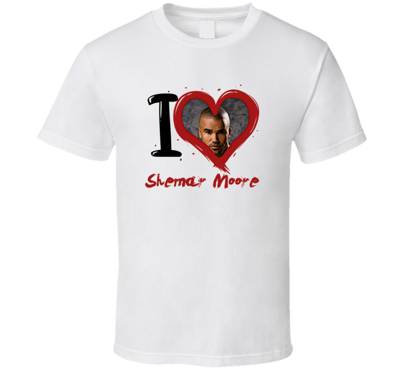 Shemar Moore I Heart Fan T Shirt