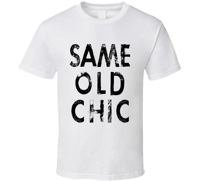 Lindsay Lohan Same Old Chic Celebrity T Shirt