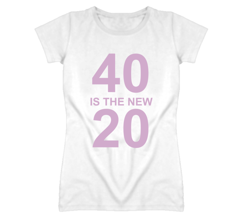 Courtney Cox 40 Is The New 20 Cougar Town T Shirt