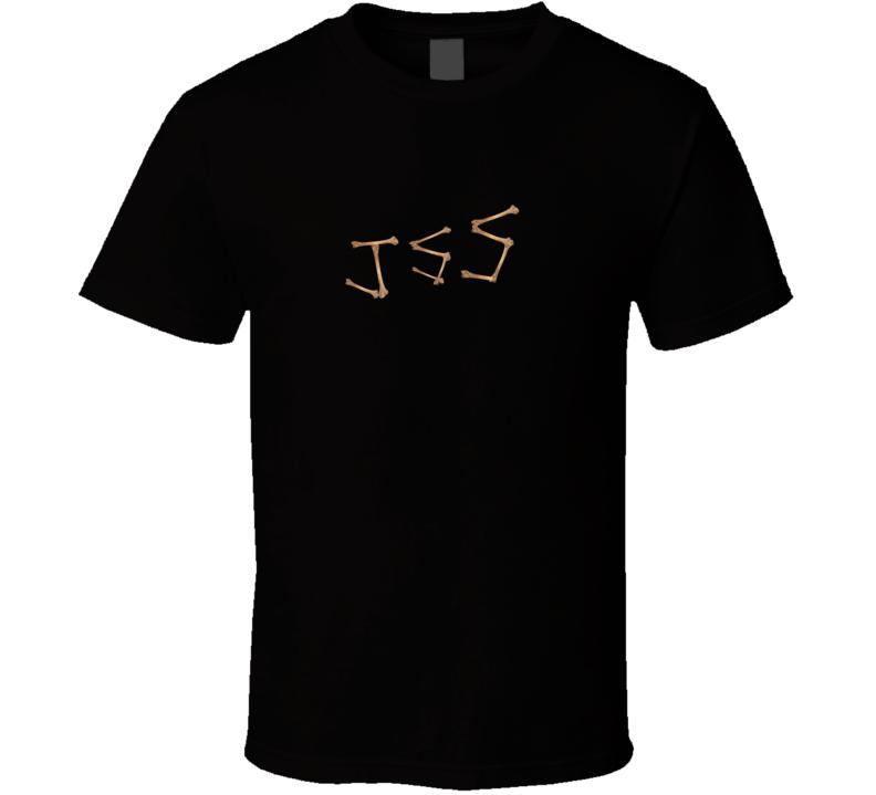 JSS Bone Initials Walking Dead Parody T Shirt