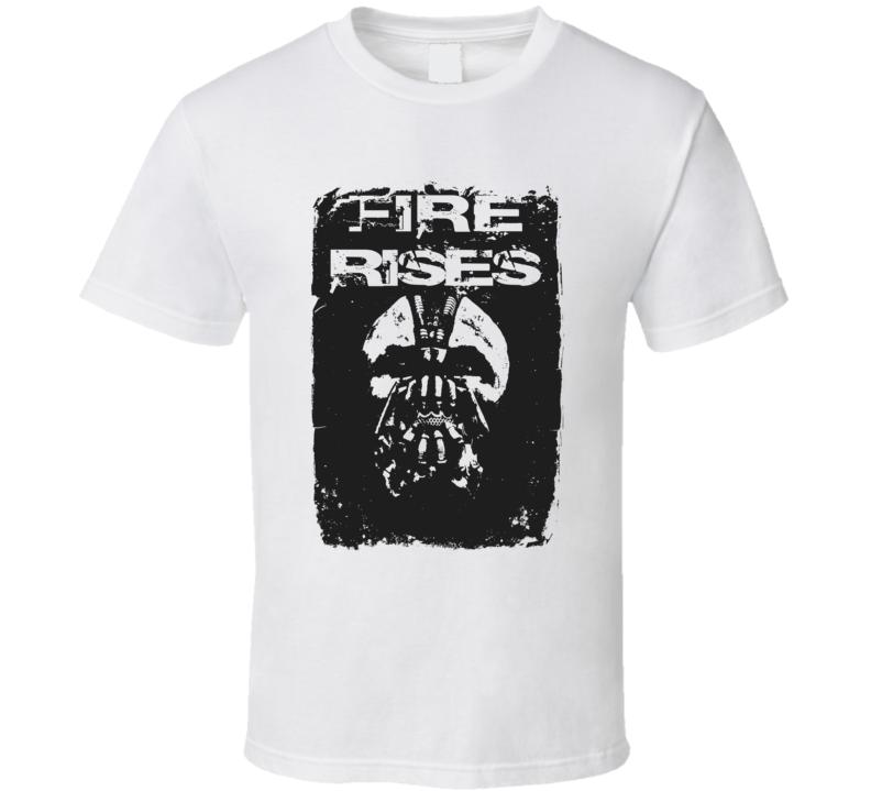 Fire Rises Light Color T Shirt