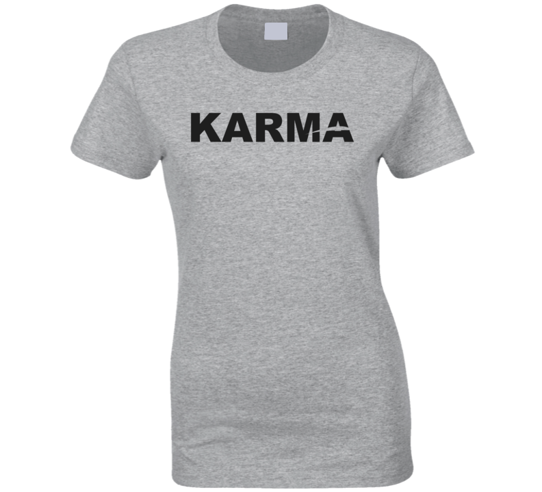Karma Celebrity Spotted T Shirt