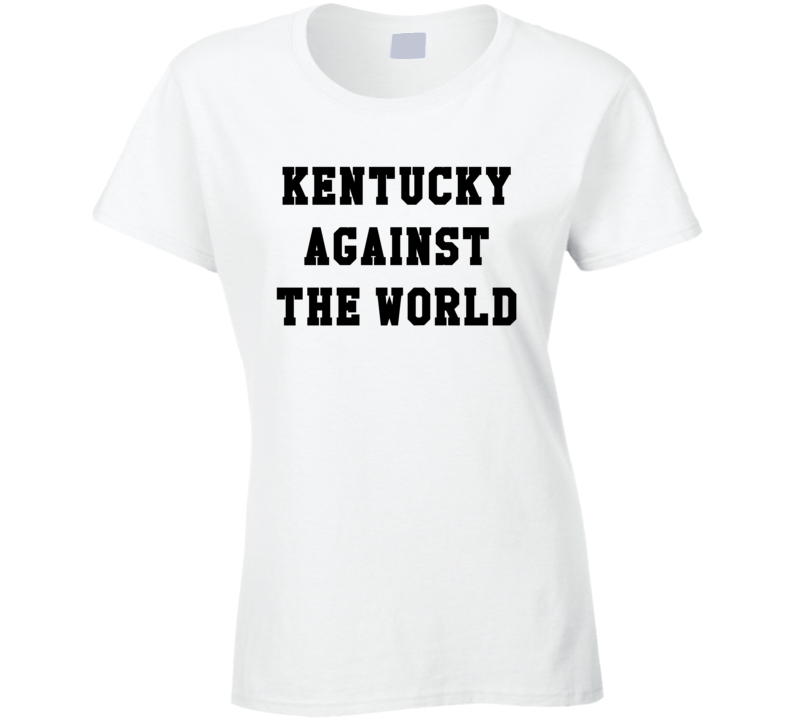 Kentucky Against the World Jennifer Lawrence Style T Shirt