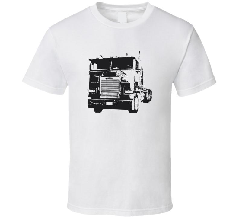 FLA 104 Truck Front View Light Color T Shirt