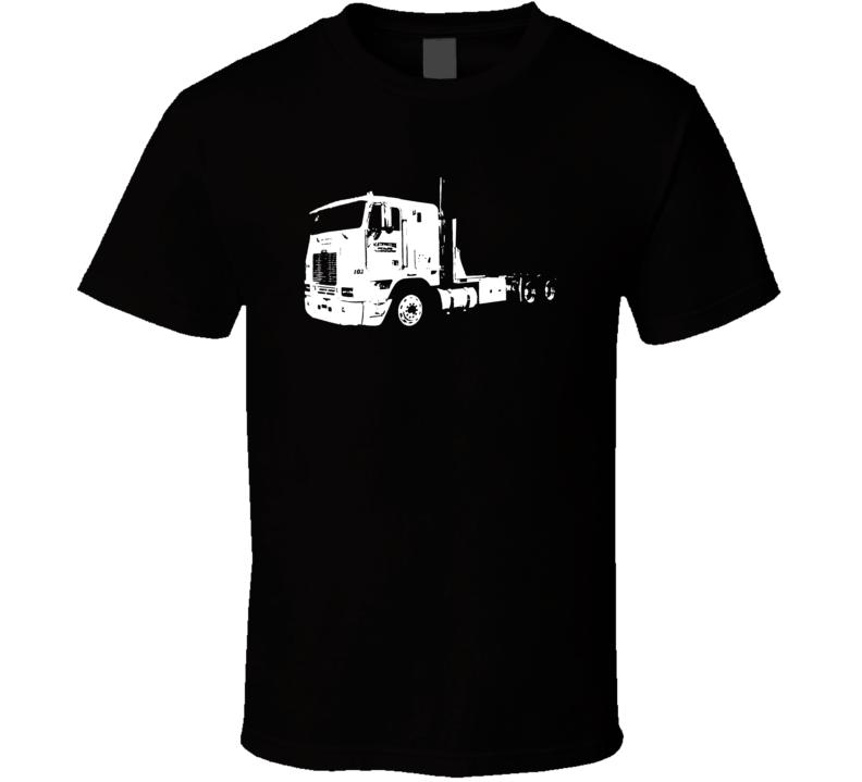 FLB Truck Side View Light Color T Shirt