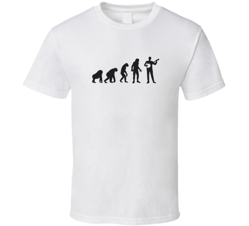 Evolution To Banjo Light Color T Shirt