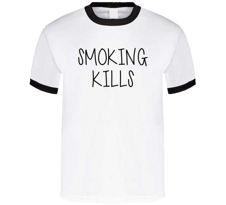 Smoking Kills Malia Obama Style Funny Parody T Shirt
