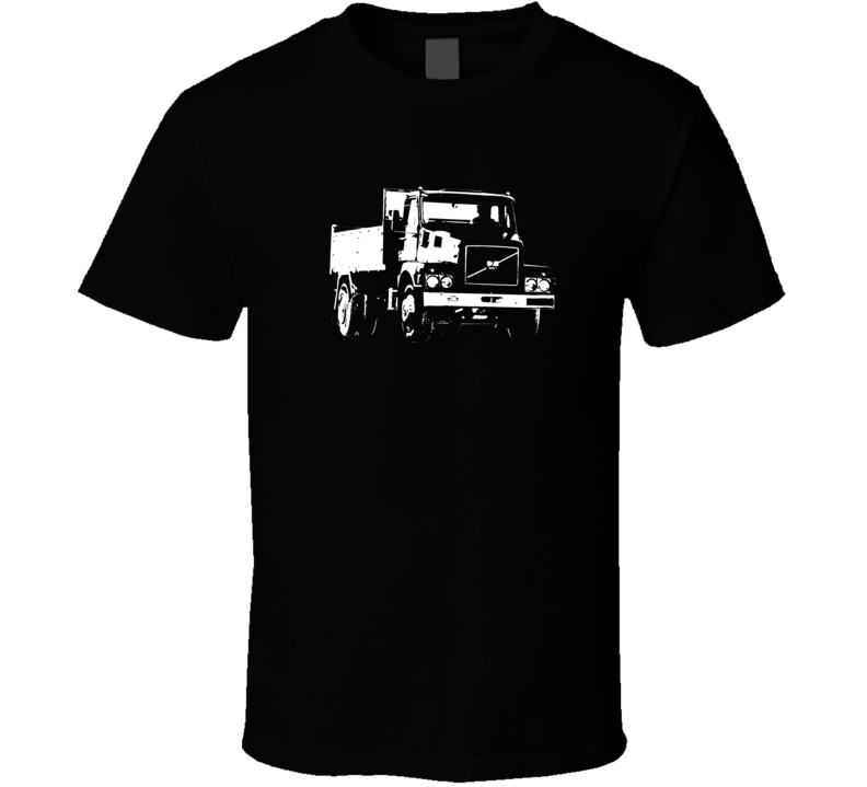 N7 Truck Front View Dark Color T Shirt