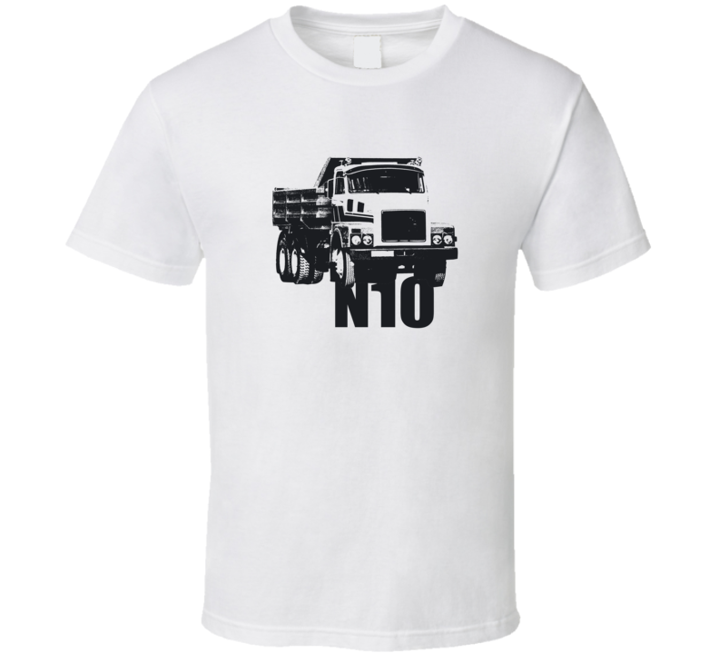 N10 Truck Front View With Model Light Color T Shirt
