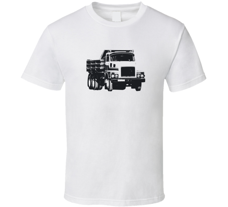 N10 Truck Front View Light Color T Shirt