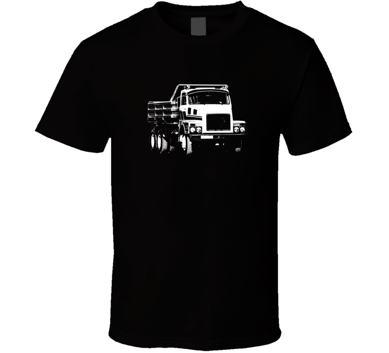 N10 Truck Front View Dark Color T Shirt