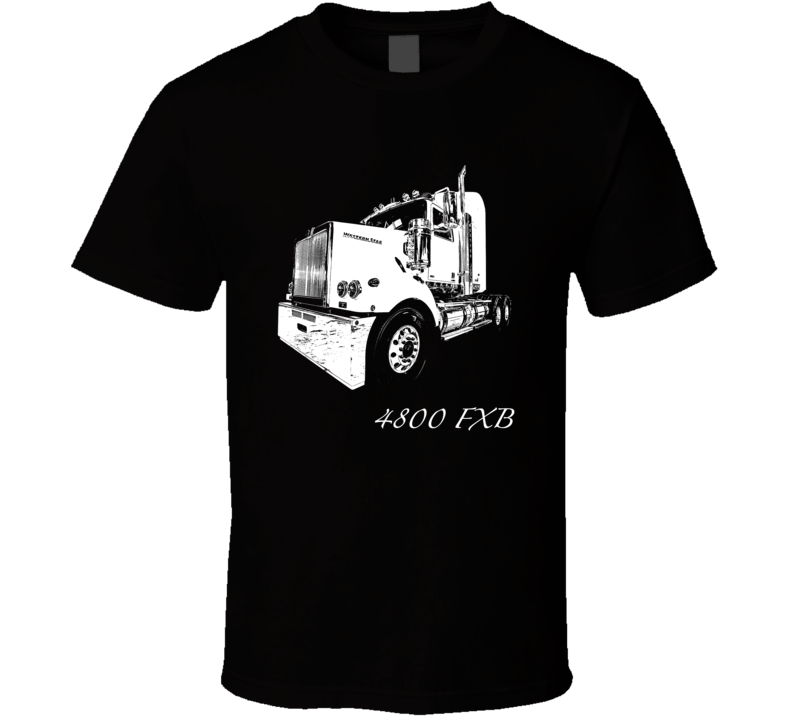 4800 FXB Side View With Model Dark Color T Shirt