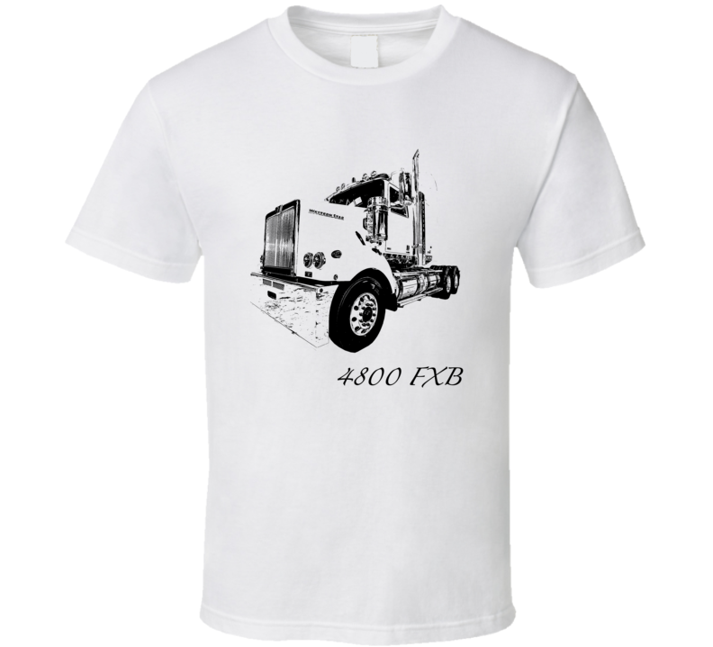 4800 FXB Side View With Model Light Color T Shirt