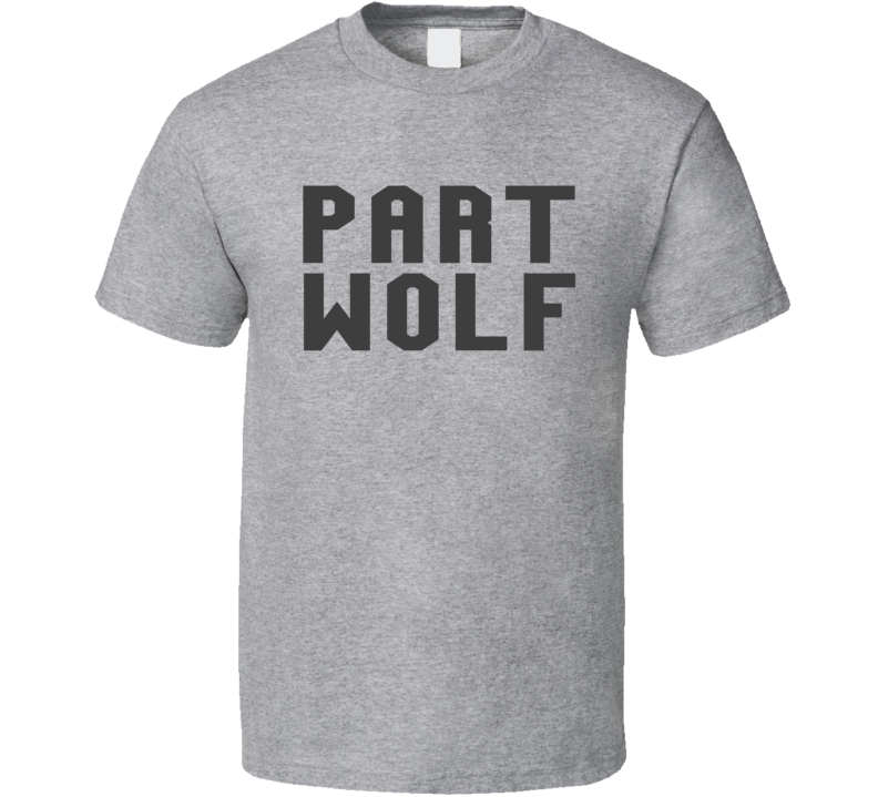 Johnny Depp Style Part Wolf Parody T Shirt